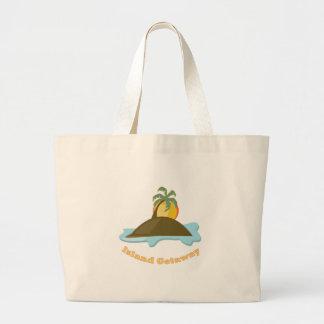 Island Getaway Canvas Bags