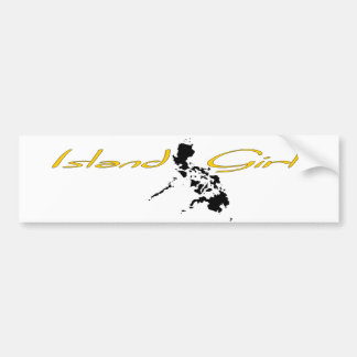 Island Girl - Philippines Bumper Sticker