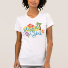 Island Girl - Women's American Apparel Fine Jersey T-Shirt