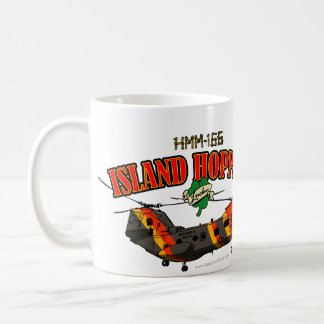 Island Hoppers Simple Design Classic White Coffee Mug
