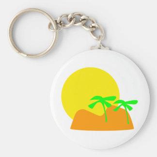 island icon basic round button key ring