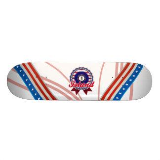 Island, KY Skateboard