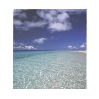 Island landscape, Vava'u Island,Tonga 2 Notepad