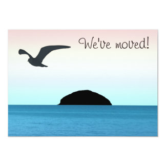 Island Life New Home Announcement Card