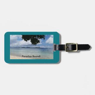 Island Luggage Tag