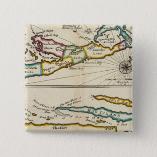 Island of Bermuda, Part of Providence Island 15 Cm Square Badge