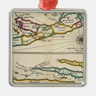 Island of Bermuda, Part of Providence Island Christmas Ornament