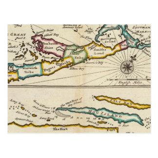 Island of Bermuda, Part of Providence Island Postcard
