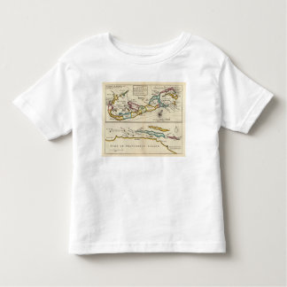Island of Bermuda, Part of Providence Island Toddler T-Shirt