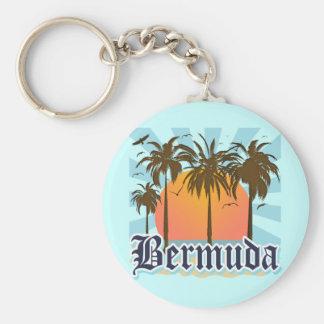 Island of Bermuda Souvenirs Key Ring