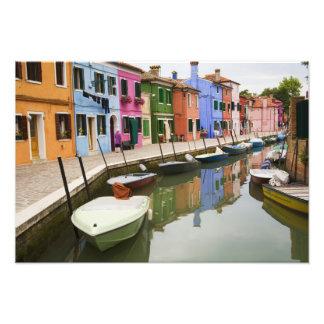 Island of Burano, Burano, Italy. Colorful 4 Photo