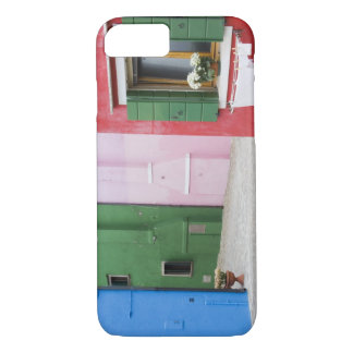 Island of Burano, Burano, Italy. Colorful Burano 2 iPhone 8/7 Case