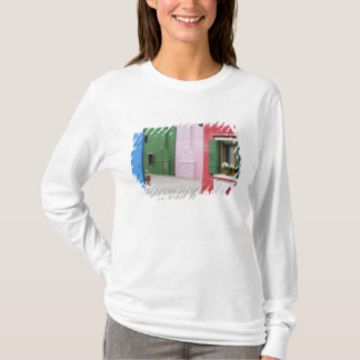 Island of Burano, Burano, Italy. Colorful Burano 2 T-Shirt