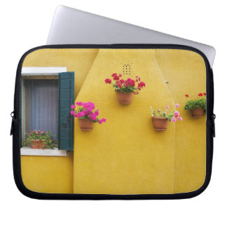Island of Burano, Burano, Italy. Colorful Burano 3 Laptop Sleeve
