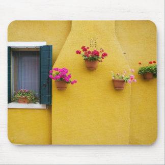 Island of Burano, Burano, Italy. Colorful Burano 3 Mouse Mat