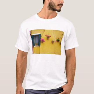 Island of Burano, Burano, Italy. Colorful Burano 3 T-Shirt