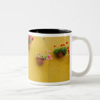 Island of Burano, Burano, Italy. Colorful Burano 3 Two-Tone Coffee Mug
