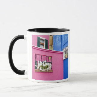 Island of Burano, Burano, Italy. Colorful Burano Mug