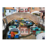 Island of Burano, Burano, Italy. Colourful