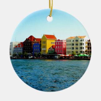 Island of Curacao Design by Admiro Christmas Ornament