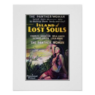 Island of Lost Souls Poster