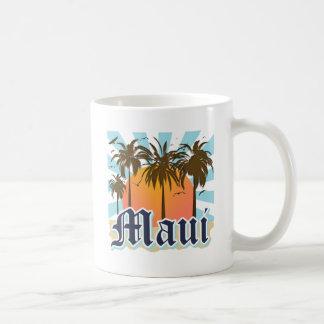Island of Maui Hawaii Souvenir Basic White Mug