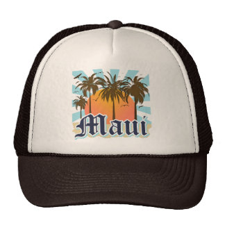 Island of Maui Hawaii Souvenir Cap
