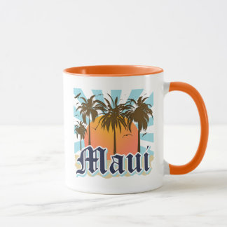 Island of Maui Hawaii Souvenir Mug