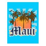Island of Maui Hawaii Souvenir Postcards