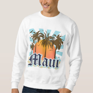 Island of Maui Hawaii Souvenir Sweatshirt