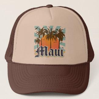Island of Maui Hawaii Souvenir Trucker Hat
