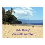 Island of Oahu Postcard