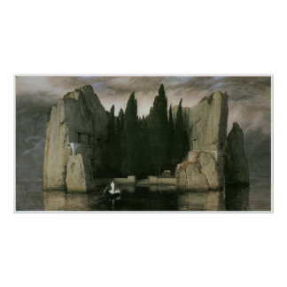 Island of the Dead 1883 Arnold Bocklin Poster