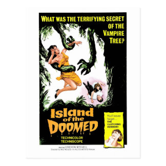 Island of the Doomed Postcard