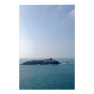 Island off the Cornish coast Stationery