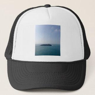 Island off the Cornish coast Trucker Hat