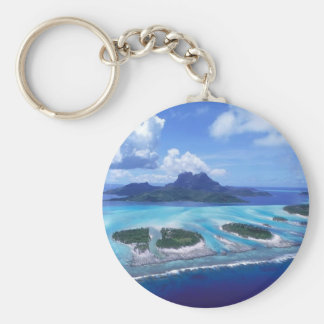 Island paradise keychain