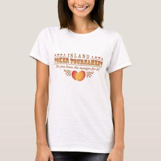 Island Poker Tournament T-Shirt