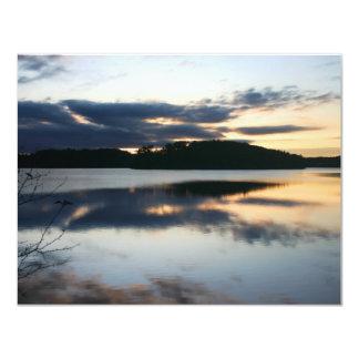 Island Pond Vermont Personalized Invitation