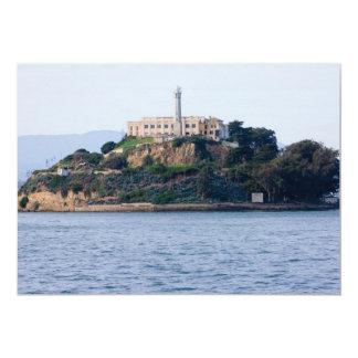 Island Prison, Alcatraz 13 Cm X 18 Cm Invitation Card