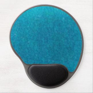 Island Sea Blue Watercolor - Teal and Aqua Gel Mouse Pad