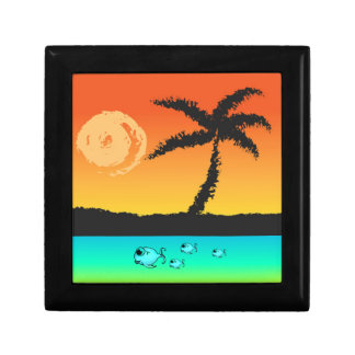 Island Sunset Gift Box