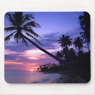 Island Sunset Mouse Mat