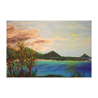 """Island Time -60"""" x 40"""" Gallery wall canvas"""
