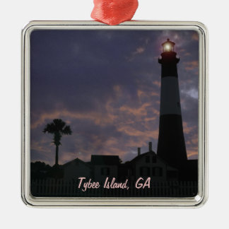 Island Time Christmas Ornament