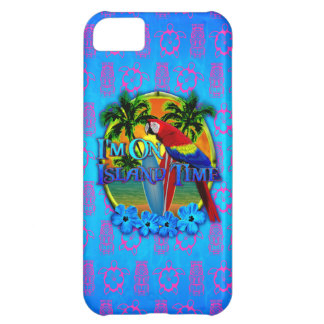Island Time Sunset Cover For iPhone 5C