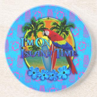 Island Time Sunset Coasters