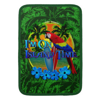 Island Time Sunset MacBook Sleeve