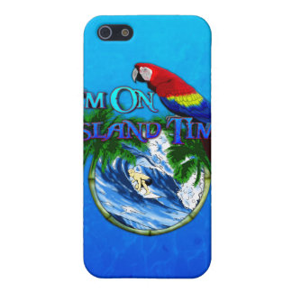Island Time Surfing iPhone 5 Covers