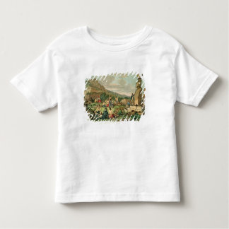 Islanders and Monuments of Easter Island Toddler T-Shirt